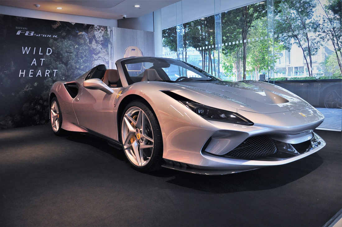 Ferrari F8 Spider Now Available In Malaysia Base Price Of Rm1 178 000 Autoworld Com My