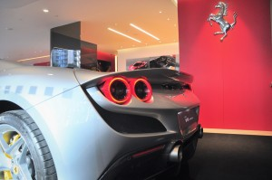Ferrari F8 Spider_Rear Spoiler_Tail Lights