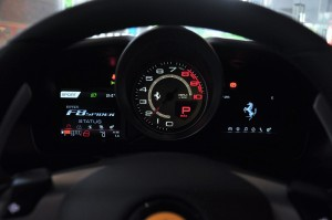 Ferrari F8 Spider_Information Display_Tachometer
