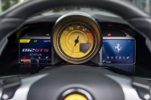 Ferrari 812 GTS_Information Displays_Tachometer