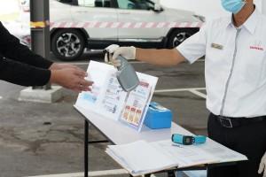 Honda Malaysia_Dealership_Hand Sanitiser