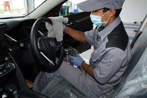 Honda Malaysia_Dealership_Service Centre_Car_Disinfectant