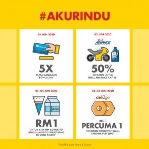 Shell Malaysia_Shell Select_#AkuRindu_Promotions_Offer_Bonuslink_Deli2Go