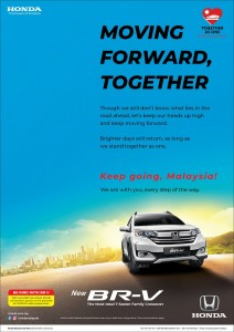 Honda Malaysia_Corporate Social Responsibility_Pandemic_Be Kind With BR-V