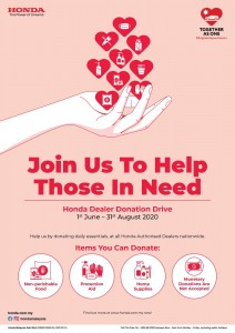 Honda Malaysia_Dealers_Together As One_Corporate Social Responsibility