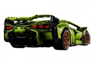 Lamborghini Sian FKP 37 42115_Rear_LEGO Technic