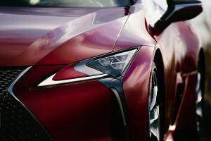 Lexus LC 500_Headlight