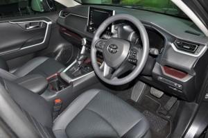 Toyota RAV4_Interior_Dashboard_Steering Wheel
