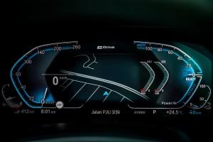 BMW X5 xDrive45e M Sport_Meter Cluster_Multi-info Display