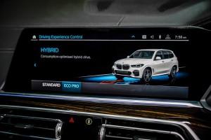 BMW X5 xDrive45e M Sport_Control Display