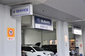 Subaru_Service Centre_Work Bays