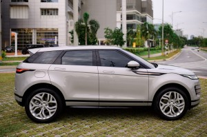 Range Rover Evoque_Side View