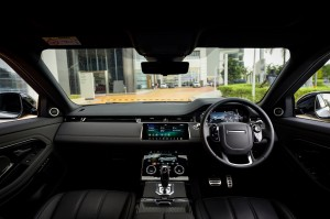 Range Rover Evoque_Interior_Dashboard_Steering Wheel