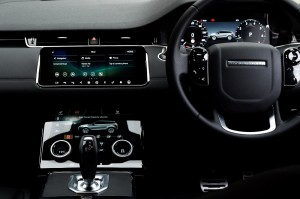 Range Rover Evoque Interio_Smart Connectivity_Infotainment Display