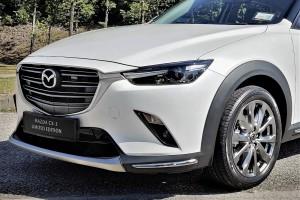 Mazda CX-3_100 Anniversary Limited Edition_Snowflake White Pearl_Front Lip Spoiler_Wheel