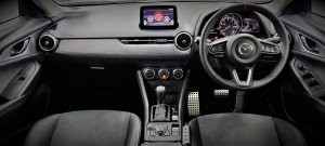 Mazda CX-3 Limited Edition_Enhanced Suede Interior_Cockpit