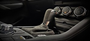 Mazda CX-3_Limited Edition_100th Anniversary_Suede_Gear Lever_Centre Console