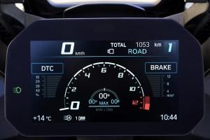 BMW S 1000 XR_TFT Display_Instrument Cluster