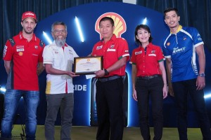 Shell Advance Masterclass 2019_Motorcycle Mechanic_Shell Malaysia MD_Shairan Huzani Husain