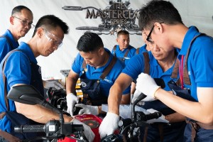 Shell Advance Masterclass Global Finale 2019_Malaysian Bike Mechanics