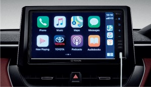 Toyota Corolla Cross_Touchscreen_Infotainment_Apple CarPlay