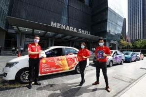Shell Helix Power_Shell Helix Protect_Grab Car_Nyon Kam Yew, May Tan and Gary Tan_Shell Protection Kit_Menara Shell