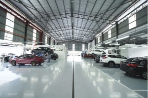 Honda 3S Dealership_Service Centre_Work Bays