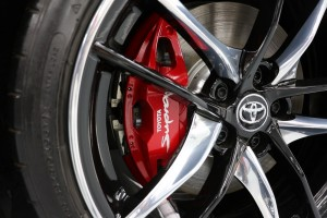 Toyota GR Supra_A90 IMP_Red Brake Caliper_Wheel Cap_2020