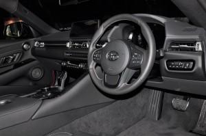 Toyota GR Supra_A90_Cockpit_Steering Wheel