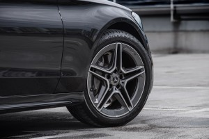 Mercedes-Benz C200 AMG Line__Front Wheel