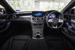 Mercedes-Benz C200 AMG Line_Interior_Dashboard_Centre Console_Steering Wheel