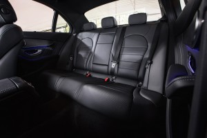 Mercedes-Benz C200 AMG Line_Interior_Rear Seats_Ambient Lighting