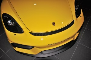 Porsche 718 Cayman GT4_Front Intakes_Lip Spoiler