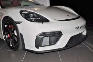 Porsche 718 Spyder_Front_Intake_Wheel_Lip Spoiler