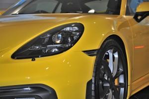 Porsche 718 Cayman GT4_LED Headlight_Front Wheel