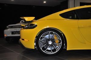 Porsche 718 Cayman GT4_Side_Rear Wing_Wheel_Side Scoop