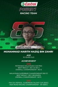 Castrol POWER1 Racing Team_Muhammad Harith_Malaysian Cub Prix Championship