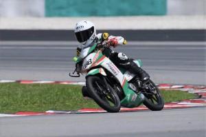 Castrol POWER1_Allan Harris_Malaysian Cub Prix Championship