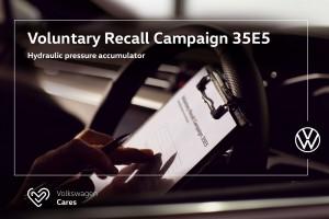 Volkswagen Voluntary Recall Campaign_Hydraulic Pressure Accumulator