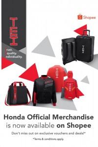 Honda Malaysia Official Store_Shopee_Merchandise