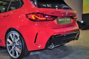 BMW M135i xDrive_Rear_Tail Light_Diffuser_Exhaust_Wheel