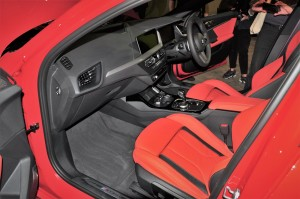 BMW M135i xDrive_Red Interior_Front Seats_Dashboard
