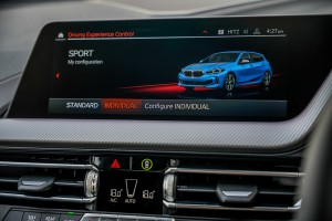 BMW M135i xDrive_Infotainment Display