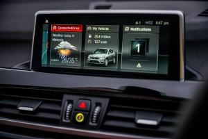 BMW X1 sDrive18i_Infotainment Display_Touchscreen