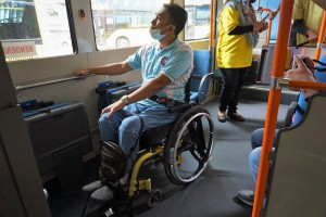 Hino Poncho_Mini Bus_Wheelchair_Passenger