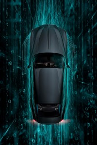 Rolls-Royce Wraith Kryptos Collection_Top View