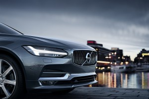 Volvo S90_Front End_Headlight_Front Grille_Ironmark