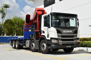 Curio Pack_Scania P410B8x4NZ Rigid Type With Crane_Truck
