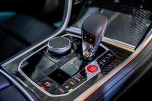 BMW M8 Coupe_M Steptronic Gear Selector_Centre Console_iDrive