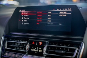 BMW M8 Coupe_Infotainment Screen_Drive Mode Setting